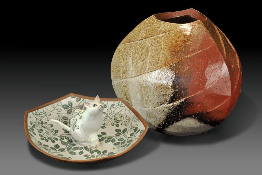 Tadashi Nishihata & Haruna Nishihata ceramic show