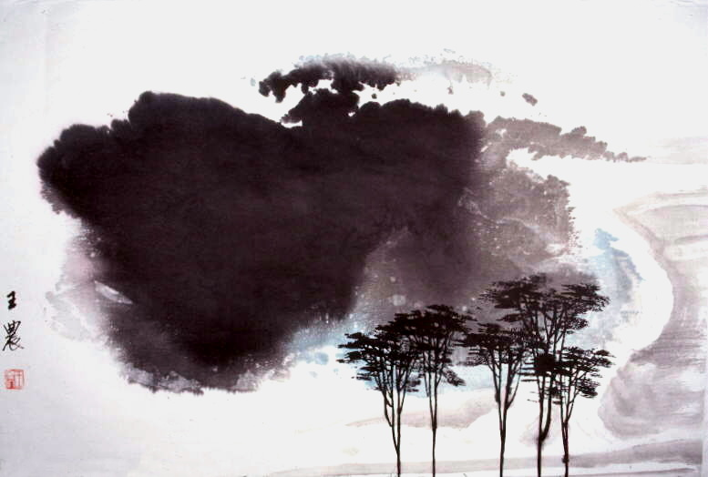 Chinese Art Ink Painting